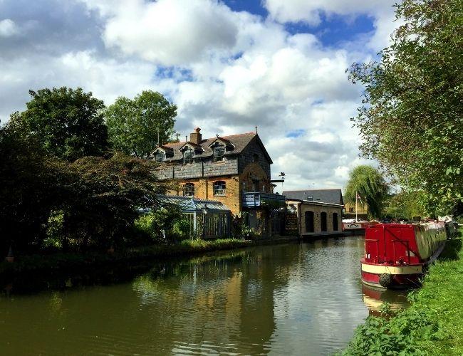 Berkhamsted town in Buckinghamshire